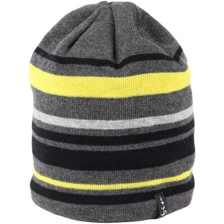 Pánská pletená čepice - Finmark ZIMNÍ ČEPICE