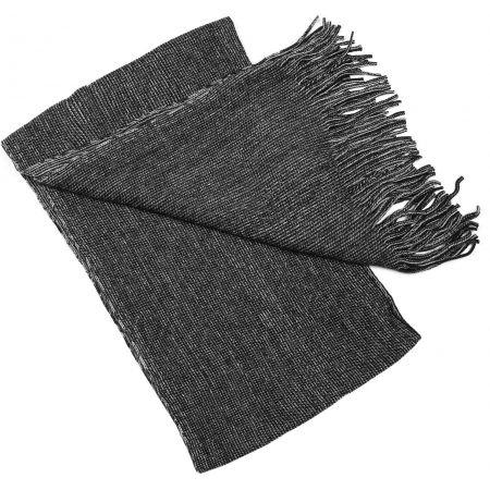 Zimní pletená šála - Finmark ZIMNÍ ŠÁLA