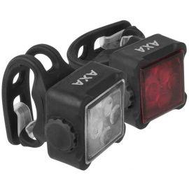 AXA NITELINE 44-R - Set předního a zadního světla na kolo