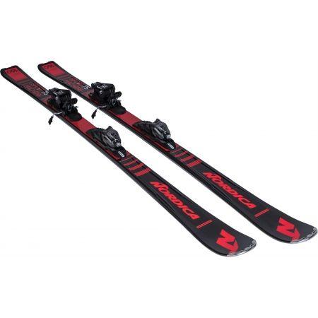 Sjezdové lyže - Nordica SPORTMACHINE 75 + P.R EVO - 6