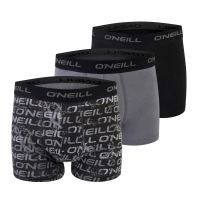 O'Neill BOXERSHORTS 3-PACK NOS LOGO PRINT