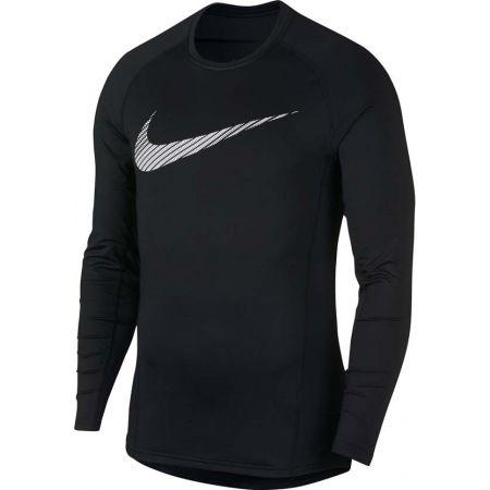 Pánské sportovní triko - Nike NP THRMA TOP LS GFX - 1