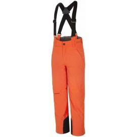 Ziener ANDO ORANGE - Dětské lyžařské kalhoty