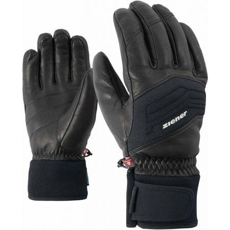 Ziener GOWON AS PR BLACK - Pánské lyžařské rukavice