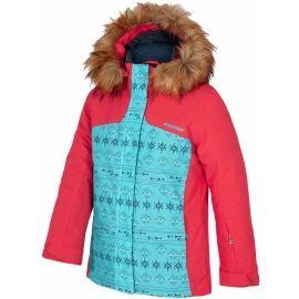 Ziener ASINA RED - Dívčí lyžařská bunda
