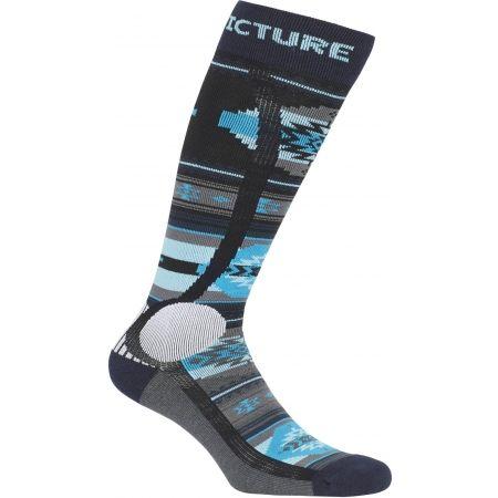 Lyžařské ponožky - Picture WOOLING - 2
