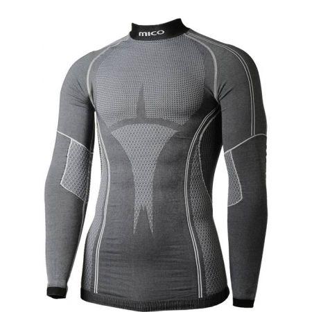 Pánské spodní triko - Mico L/SLEEVES MOCK NECK SHIRT