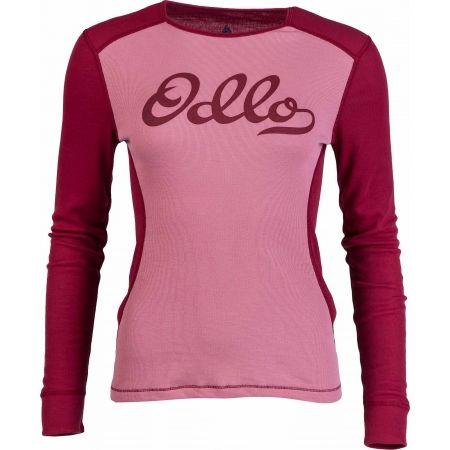 Odlo SUW WOMEN'S TOP L/S CREW NECK ORIGINALS WARM - Dámské funkční triko