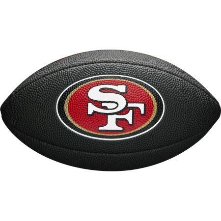 Wilson MINI NFL TEAM SOFT TOUCH FB BL SF