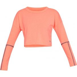 Under Armour LIGHTER LONGER CROPPED CREW - Dámský top