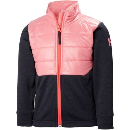 Dětská bunda - Helly Hansen K BOUNDARY FLEECE JACKET - 1