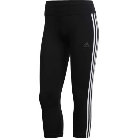 Dámské 3/4 kalhoty - adidas D2M RR 3s 3/4 - 1