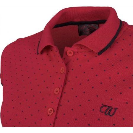 Dámské tričko s límečkem - Willard MELANY - 4