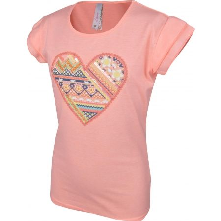 Dívčí triko s volánkovým rukávem - Lewro SOFI - 2