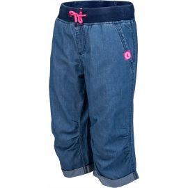 Lewro ORA - Dětské 3/4 kalhoty džínového vzhledu