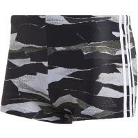 adidas FITNESS 3-STRIPES GRAPHIC SWIM BOXER