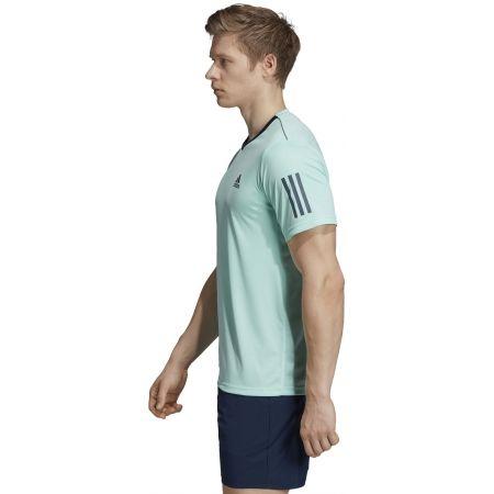 Pánské tričko - adidas CLUB 3 STRIPES TEE - 5