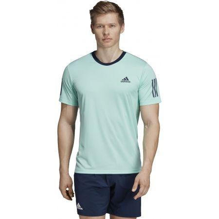 Pánské tričko - adidas CLUB 3 STRIPES TEE - 4
