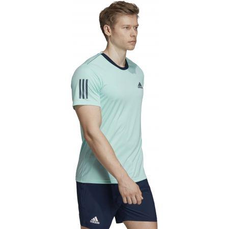 Pánské tričko - adidas CLUB 3 STRIPES TEE - 6
