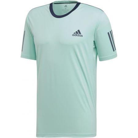 Pánské tričko - adidas CLUB 3 STRIPES TEE - 1