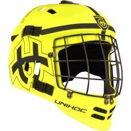 Unihoc MASK SHIELD - Juniorská florbalová maska