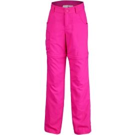 Columbia SILVER RIDGE III CONVT G - Dívčí outdoorové kalhoty