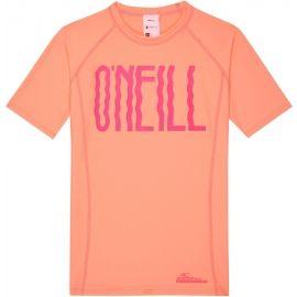 O'Neill PG LOGO SHORT SLEEVE SKINS - Dívčí triko s UV filtrem