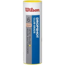 Wilson DROPSHOT 6 TUBE YELLOW - Badmintonový míč