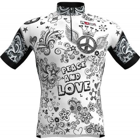 Rosti PEACE AND LOVE - Pánský cyklistický dres