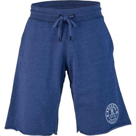 Russell Athletic RAW EDGE ROSETTE PRINTED - Pánské šortky
