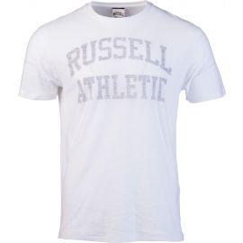 Russell Athletic CLASSIC S/S CREW NECK REVERSE PRINTED TEE SHIRT - Pánské tričko