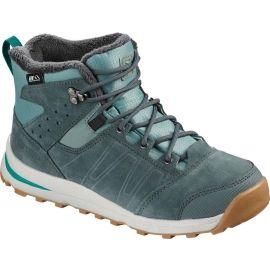 Salomon UTILITY TS CSWP J - Dětská zimní obuv