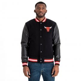 New Era NBA CHICAGO BULLS TEAM VARSITY JACKET