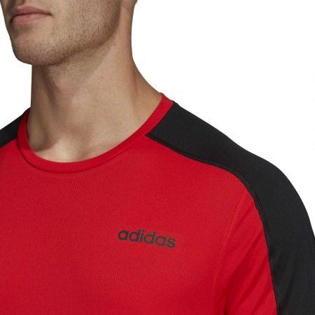 Pánské tričko - adidas DESIGN2MOVE TEE PLAIN - 8