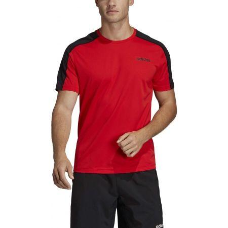 Pánské tričko - adidas DESIGN2MOVE TEE PLAIN - 3