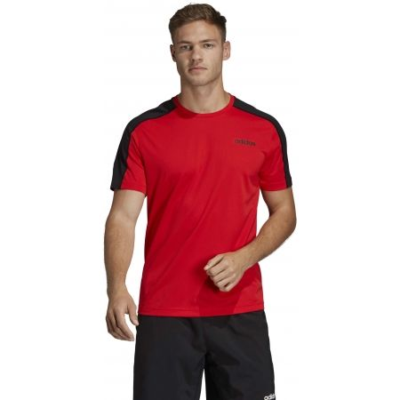 Pánské tričko - adidas DESIGN2MOVE TEE PLAIN - 4