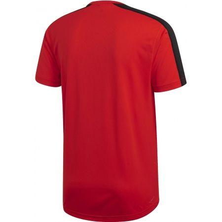 Pánské tričko - adidas DESIGN2MOVE TEE PLAIN - 2