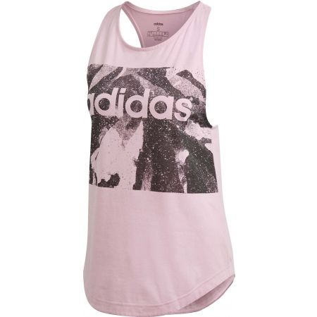 adidas ESSENTIALS SEASON ALL OVER PRINT TANK - Dámské tílko
