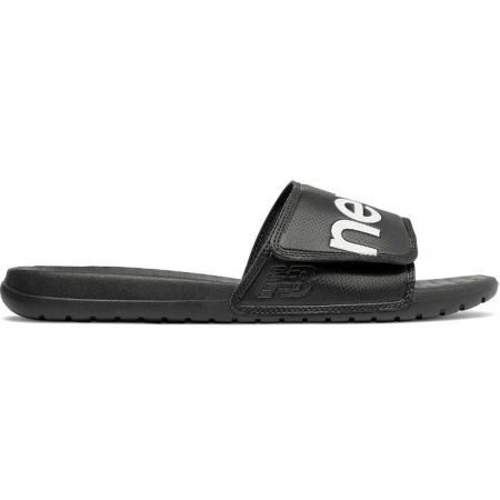 New Balance SDL230BK - Unisexové pantofle