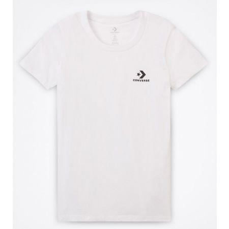 Converse STAR CHEVRON SMALL CHEST LOGO TEE - Dámské triko