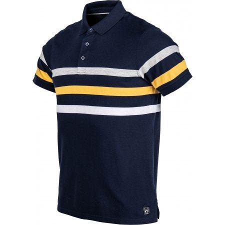 Pánské triko s límečkem - Willard WILEM - 2