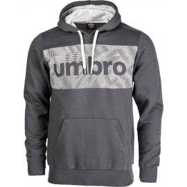 Umbro FLEECE HOODY WITH CHEST GRAPHIC - Pánská mikina