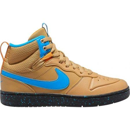 Dětská volnočasová obuv - Nike COURT BOROUGH MID 2 BOOT GS - 1