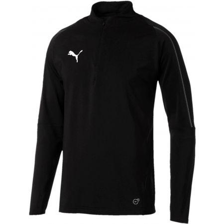 Puma FINAL TRAINING 1/4 ZIP TOP - Pánské sportovní triko