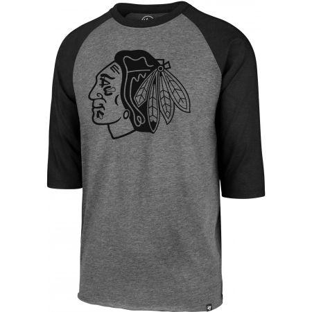 47 NHL CHICAGO BLACKHAWKS IMPRINT 47 CLUB RAGLAN TEE - Pánské triko