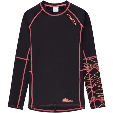 O'Neill PG LONG SLEEVE SKINS - Dívčí triko s UV filtrem