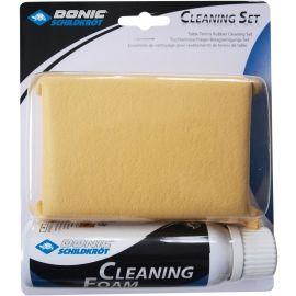 Donic CLEANING SET - Čistící houba a sprej