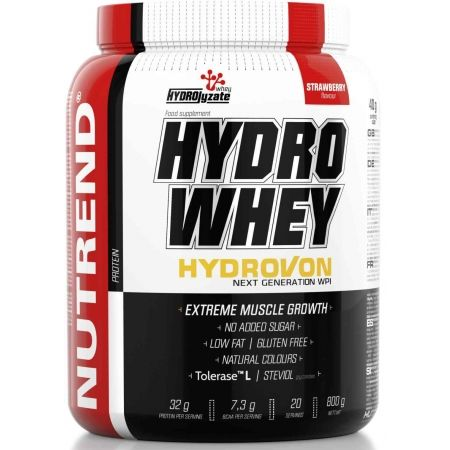 Nutrend HYDRO WHEY 800G JAHODA - Protein