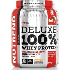 Nutrend DELUXE 100% WHEY 2250G JAHODOVÝ CHEESECAKE - Protein