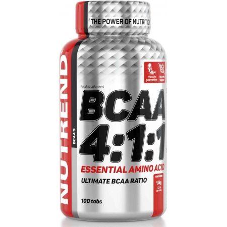 Nutrend BCAA 4:1:1 100 TABLET - Aminokyseliny větvené
